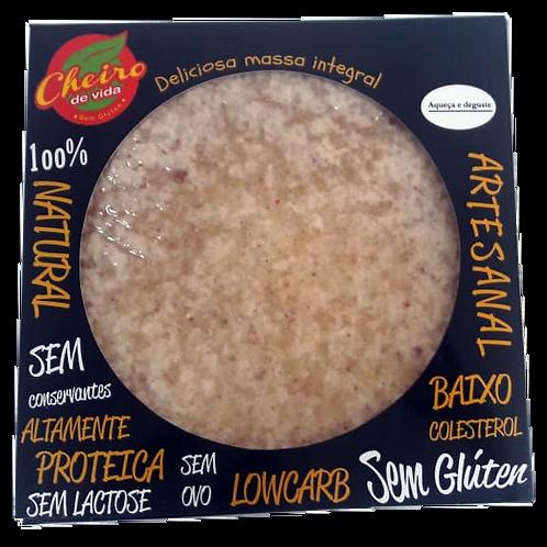 2 Discos de Pizza Low Carb Vegano