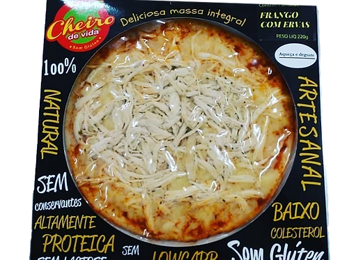 Pizza Low Carb Frango