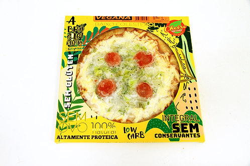 Pizza Low Carb Brasileirinha Vegana Brócolis