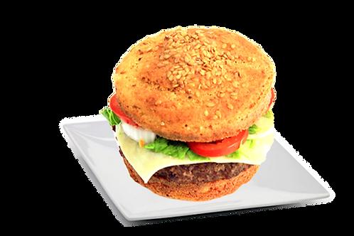 Pão de Hambúrguer Low Carb e Vegano