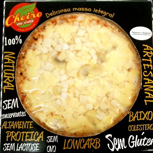 Pizza Low Carb Palmito e Champignon