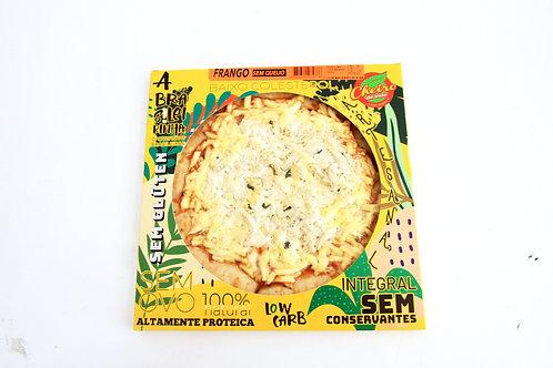 Pizza Low Carb Brasileirinha Frango Sem Queijo