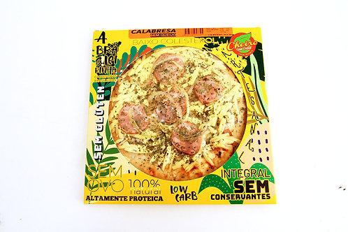 Pizza Low Carb Brasileirinha  Calabresa Sem Queijo