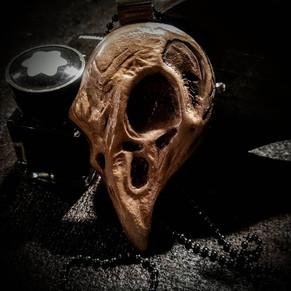 Raven's Skull Pendant