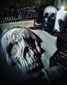 #dustynbustos #exclusiveartist #elusiveartist #leatherartist #alicecooper