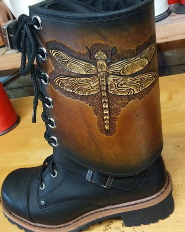 Dragonfly Boot Cover