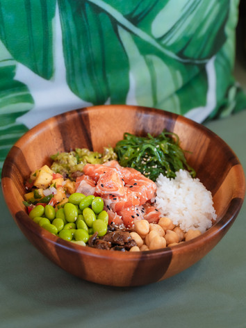 Create Your own Poke Bowl