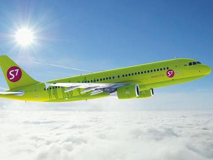 S7 Airlines. Билеты со скидкой 3% от тарифа