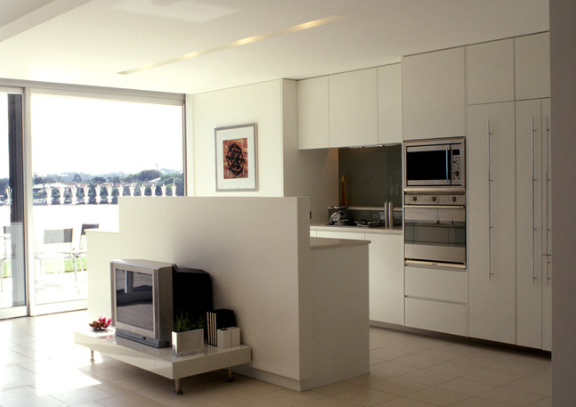 Open Plan Living Design - Cook Apartments