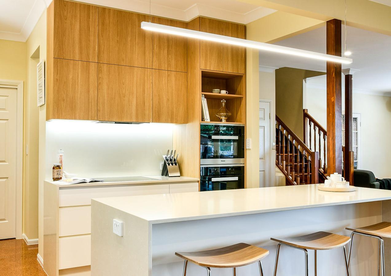 Kitchen island bench design - Brisbane