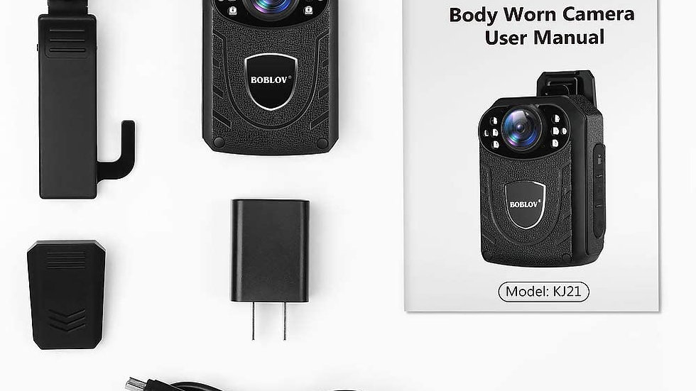BOBLOV KJ21 1296P Body Camera /Dash Camera
