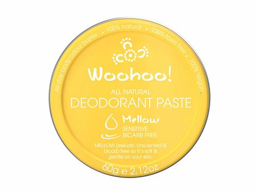 WOOHOO DEODORANT PASTE MELLOW (SENSITIVE) 60g