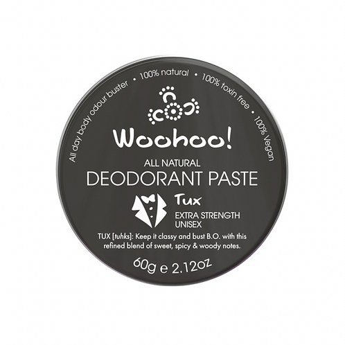 WOOHOO DEODORANT PASTE TUX (EXTRA STRENGTH) 60g