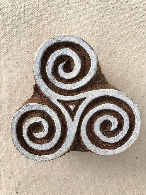 110 Block - tri-swirl