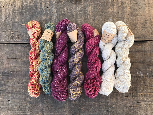 YCYSB4 Charkha Yarn Silk Bundle