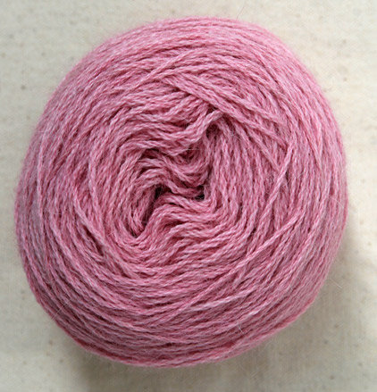 Alpaca Merino 4 ply - pretty in pink