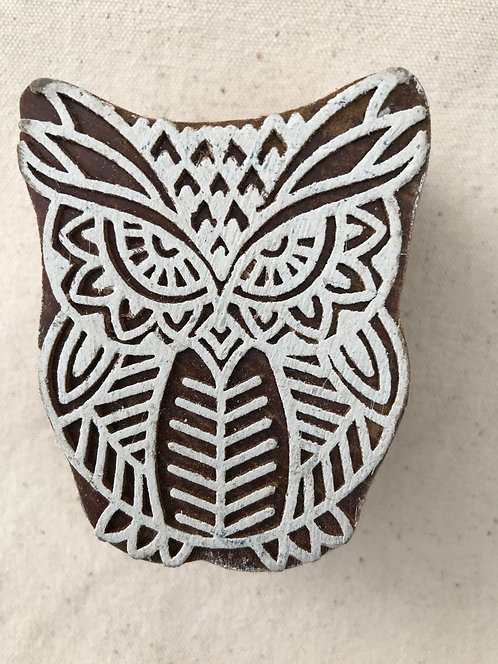 WB116 Block - Owl