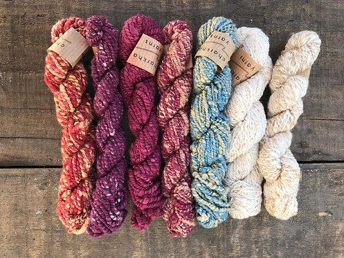 YCYSB2 Charkha Yarn Silk Bundle