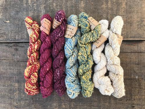 YCYSB1 Charkha Yarn Silk Bundle