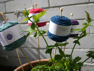 Lleyni Mini Wool Pots
