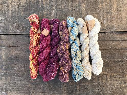 YCYSB3 Charkha Yarn Silk Bundle