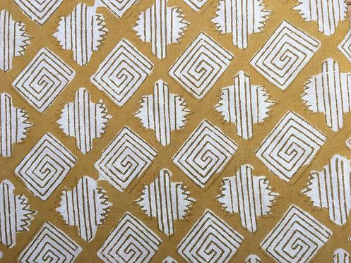 210fq natural dye - mustard maze