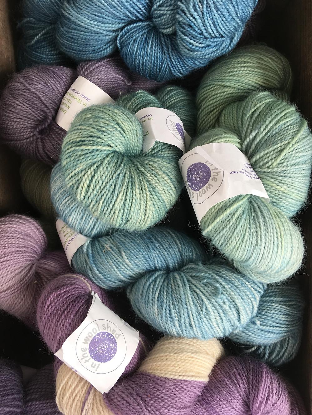 BFL sock yarn now available at Wool Warehouse Leamington Spa