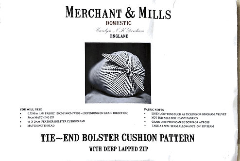 Merchant & Mills Tie-End Bolster Cushion - 11