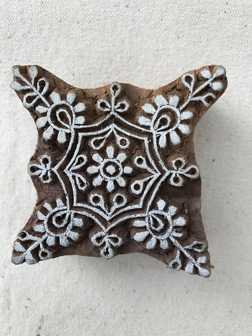 123 Block -  snowflake 4 points