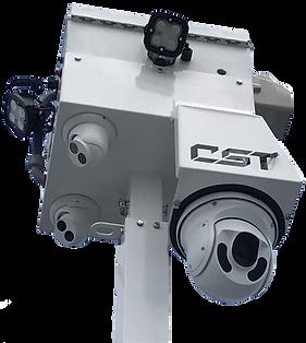 mobile tower surveillance camera