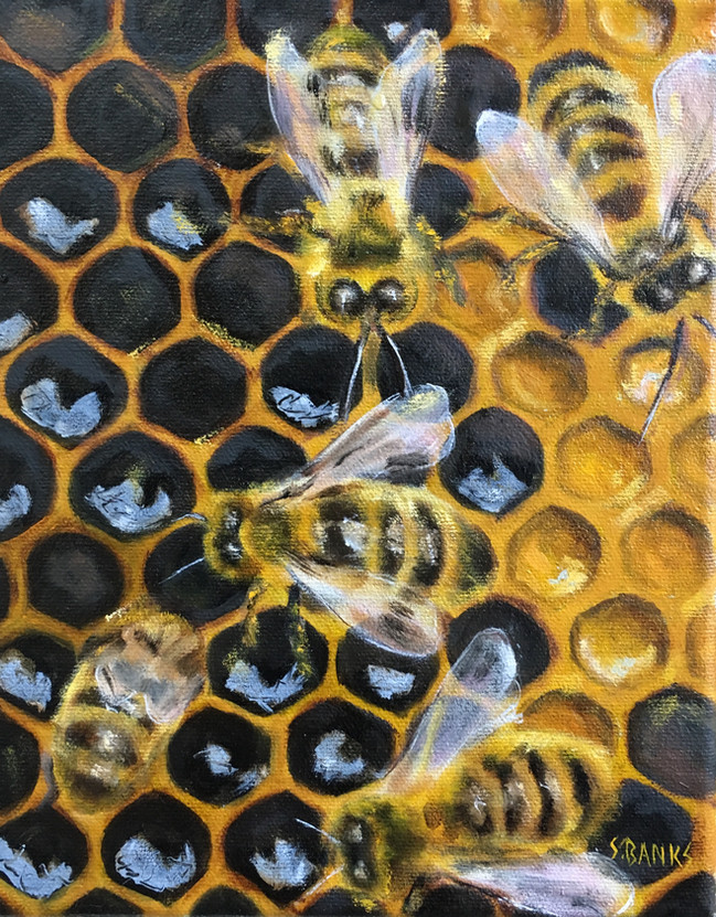 Busy In The Hive