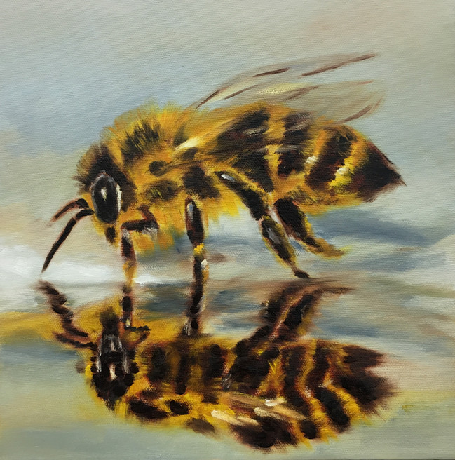 Thirsty Bee