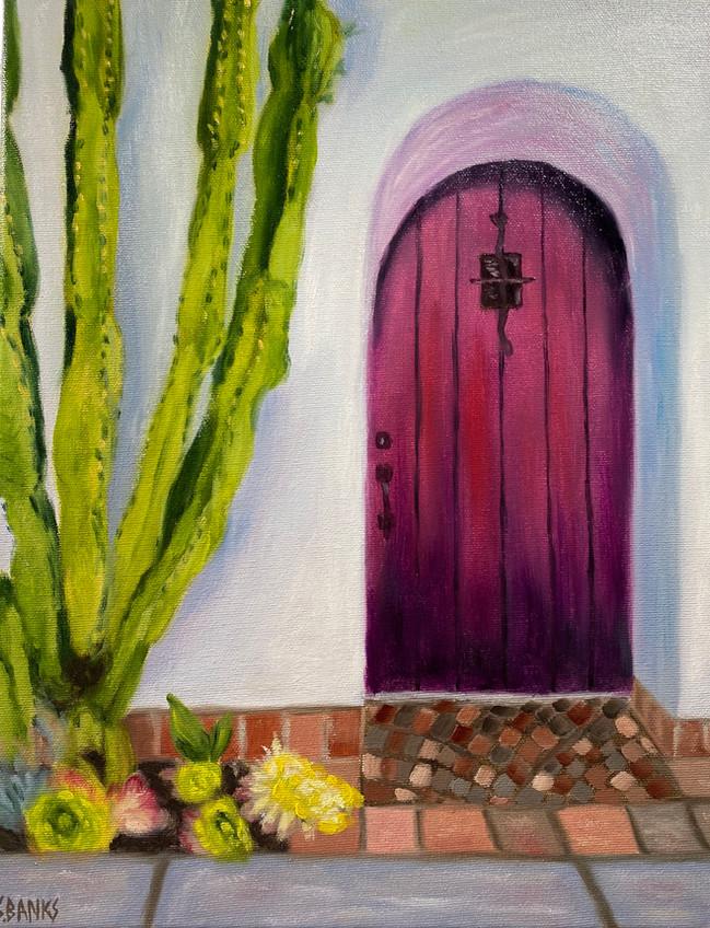 Welcome at the Purple Door