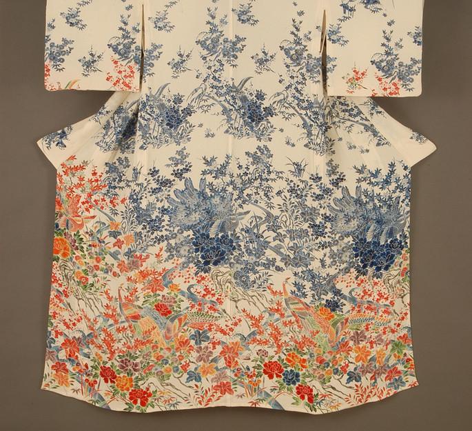 קימונו בהדפס עבודת יד, טאיקו קושידה- אליאש