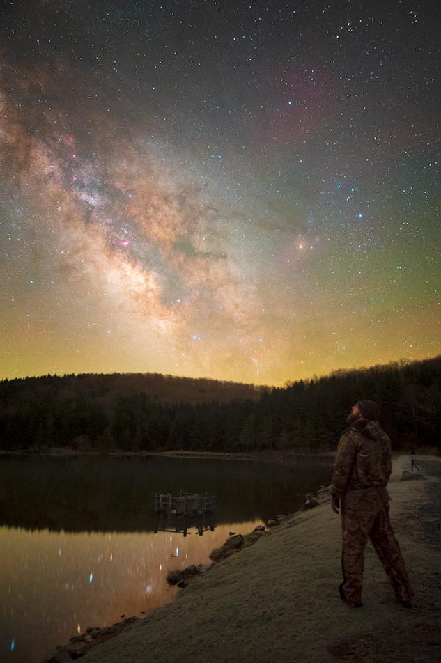 West Virginia Milky Way