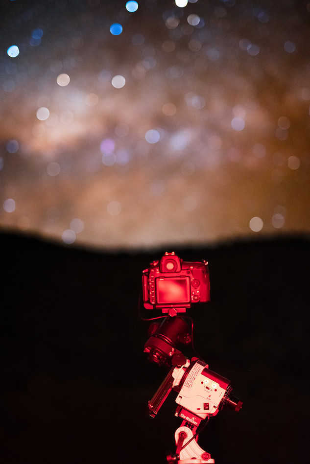 Blurred Milky Way