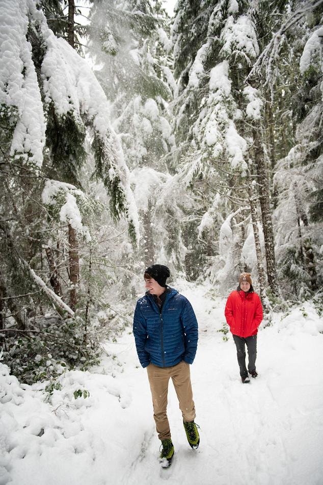 Hiking at Mt. Rainier