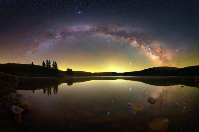 West Virginia Milky Way Panorama