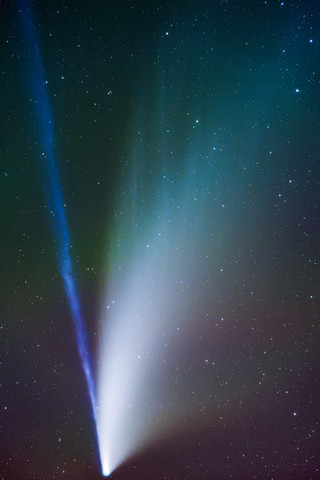 Comet NEOWISE from Craters of the Moon National Monument