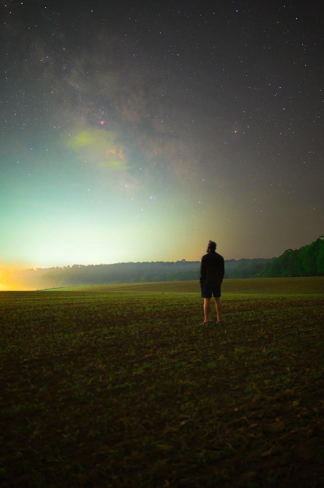Milky Way from Deep Creek, Maryland