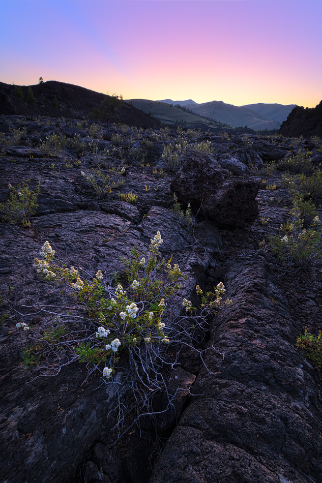 Craters of the Moon Sunset