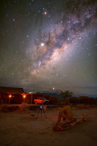 Stargazing in Chile