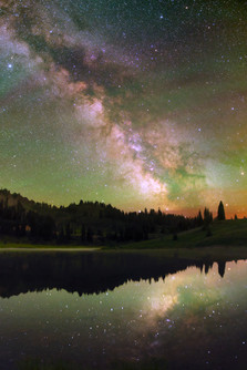 Milky Way from Tipsoo Lake