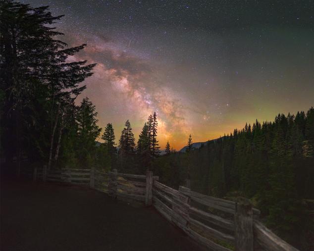 Box Canyon at Mt. Rainier National Park