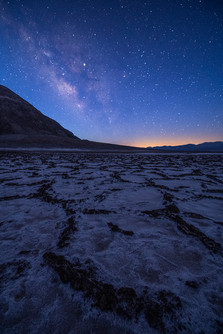 Death Valley Milky Way from Badwater Basin
