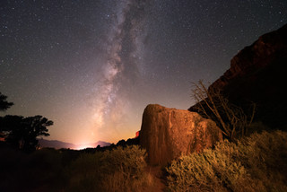 Milky Way from Zion National Park