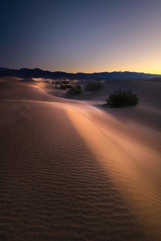 Death Valley Sunrise at Mesquite Dunes