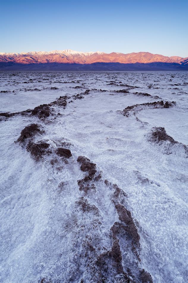 Badwater Basin sunrise