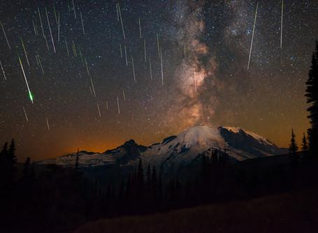 "Story behind the shot: ""Skyfall"" Perseid Meteor shower"