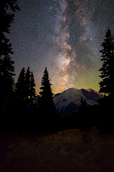 Milky Way from Mt. Rainier